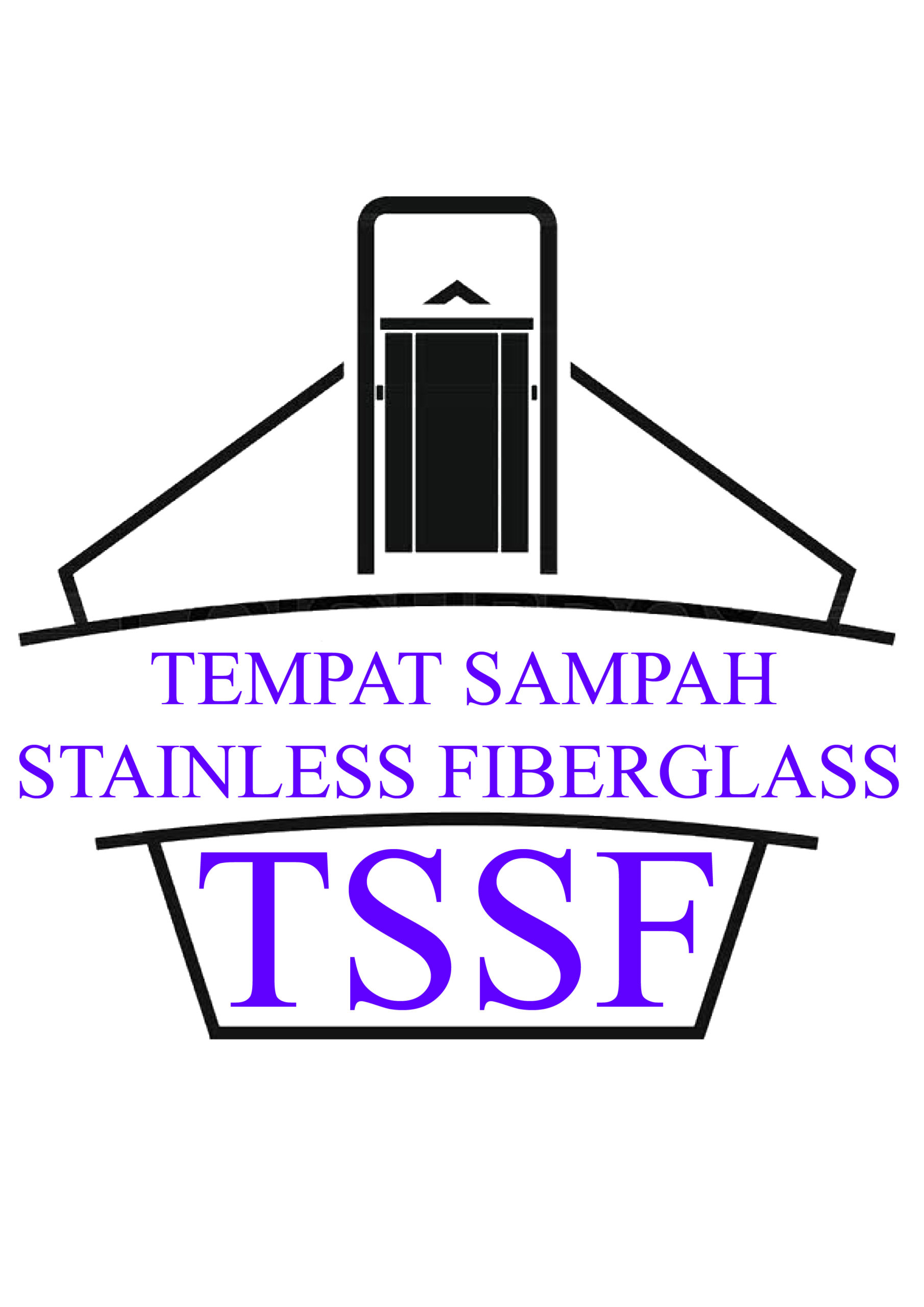 TEMPAT SAMPAH STAINLESS FIBERGLASS
